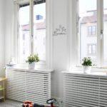 белые рейки на радиаторе